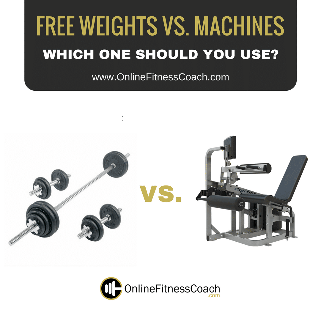 Free Weights Versus Exercise Machines